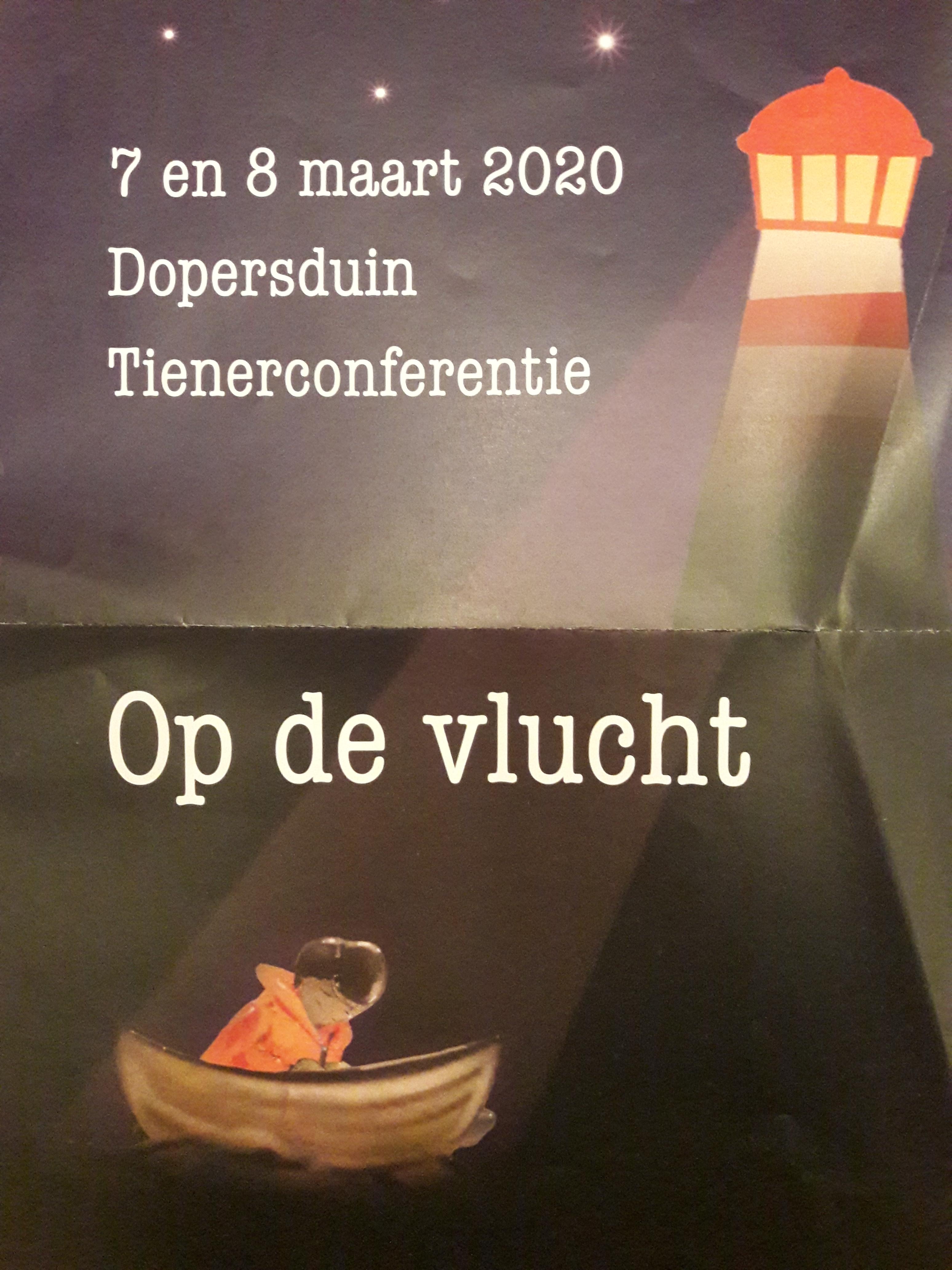 Tienerconferentie 7 en 8 maart 2020