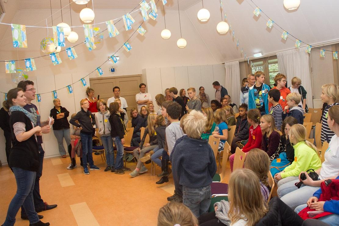 Kinderconferentie - De wereld beter maken